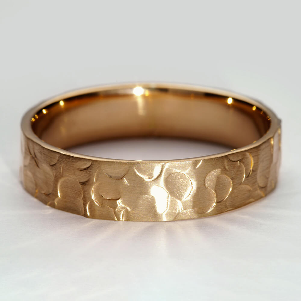 Minerva IV 9ct yellow gold matt