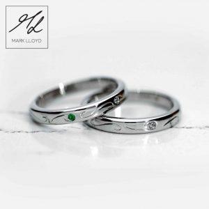 michelle lloyd wedding and eternity rings