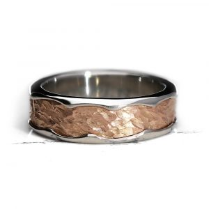 Vulcan IV Ring Rose Gold Platinum Mark Lloyd