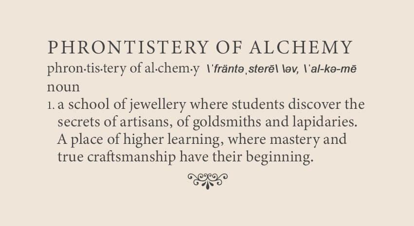 the phrontistery of alchemy