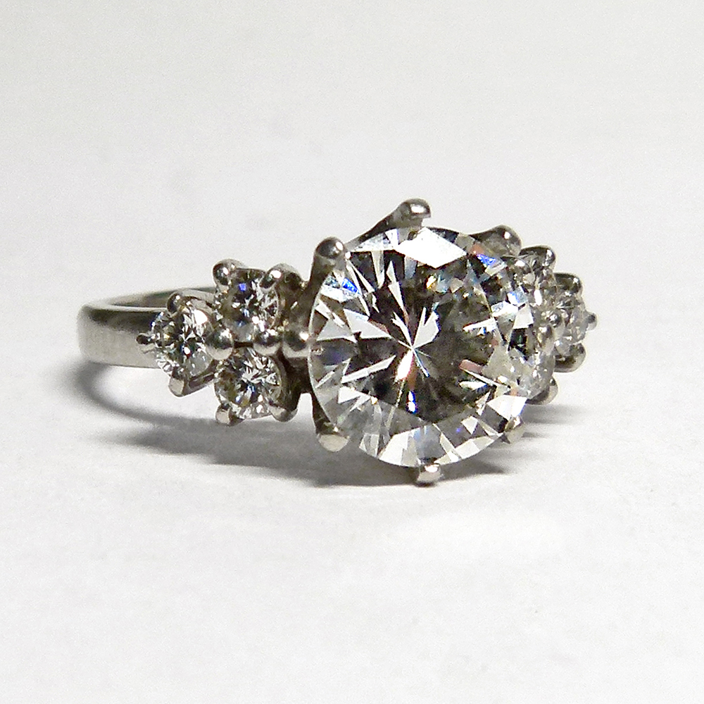 Motley ring before the diamond was removed