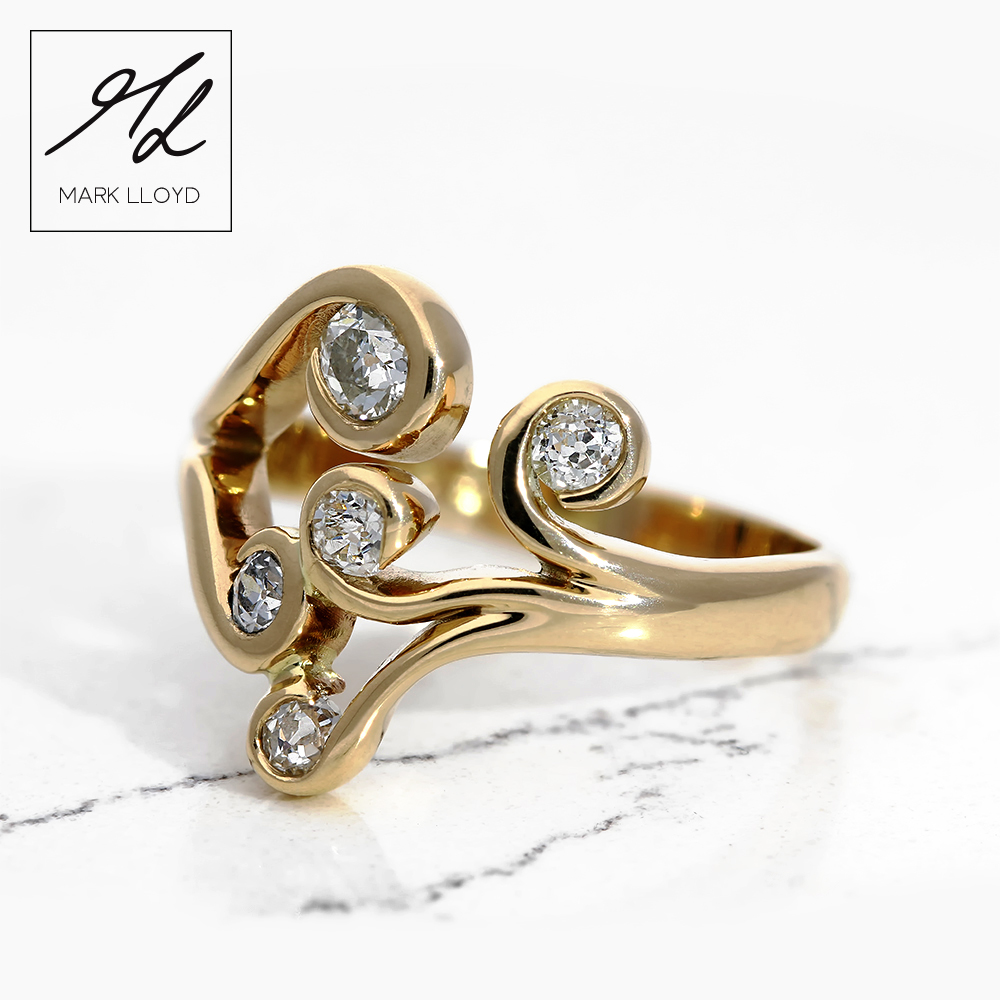 Gold-Diamond-koru-ring-1