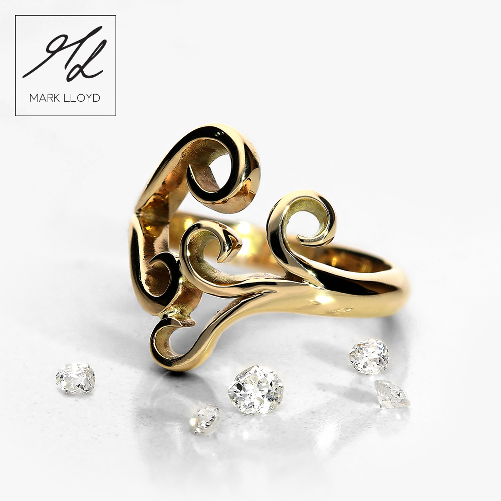 Gold-Diamond-koru-ring-3