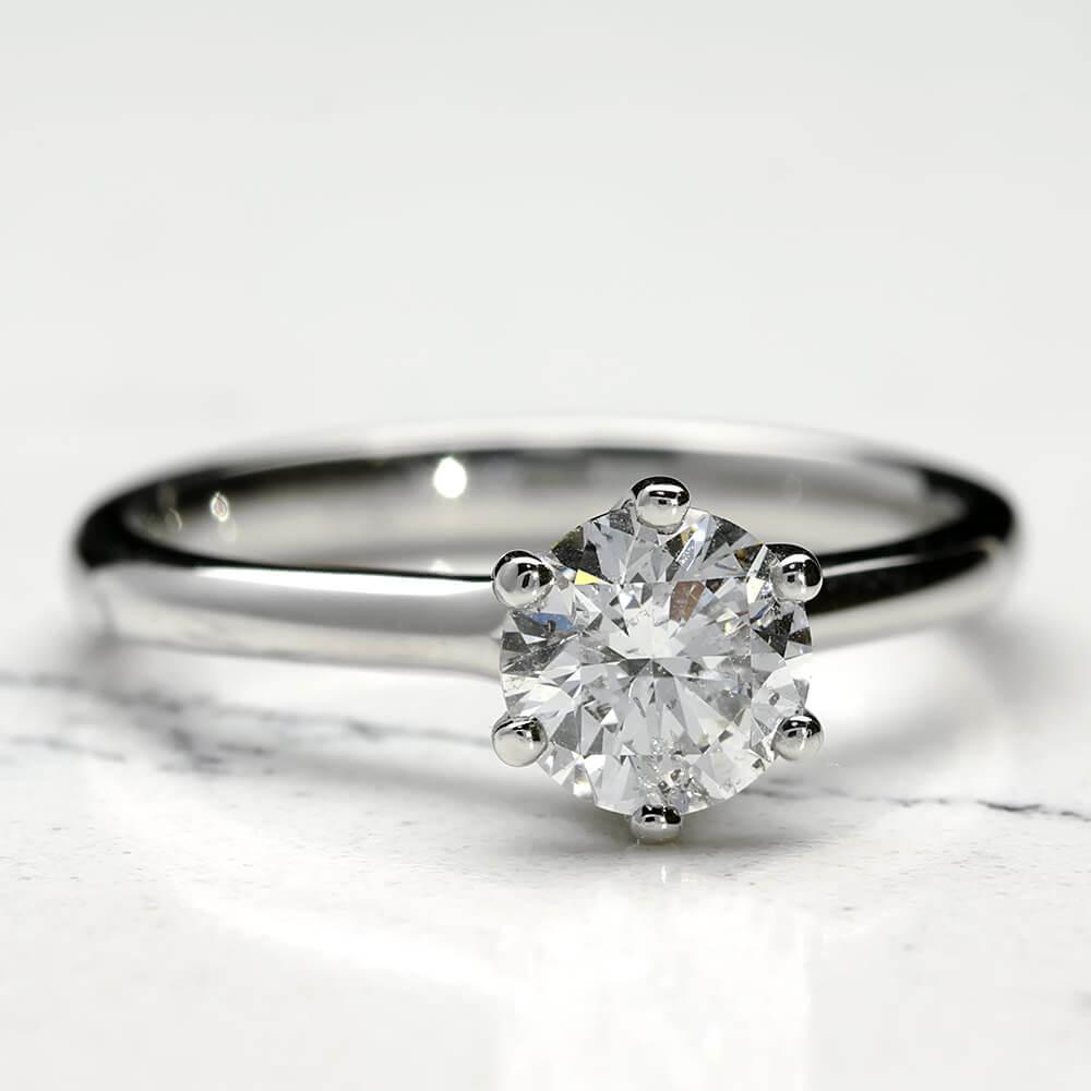 Platinum 1ct Diamond Ring - Mark Lloyd Jewellery  4da198702