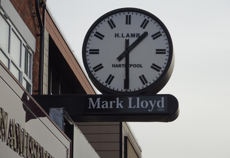 mark lloyd clock