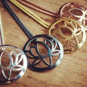 Sally Andrews Assorted Lotus Pendants